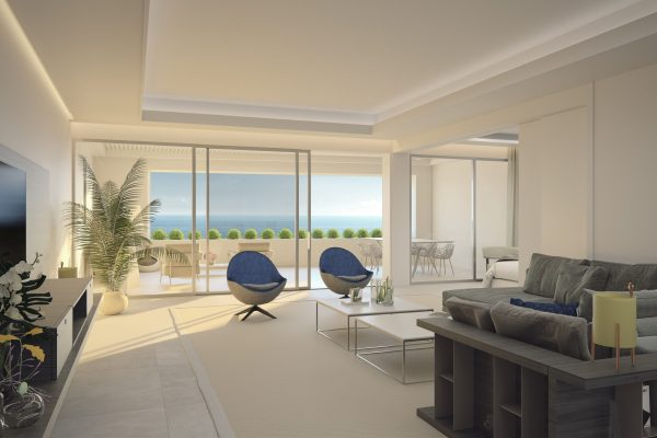 3 and 4 bedroom new build property for sale in Estepona