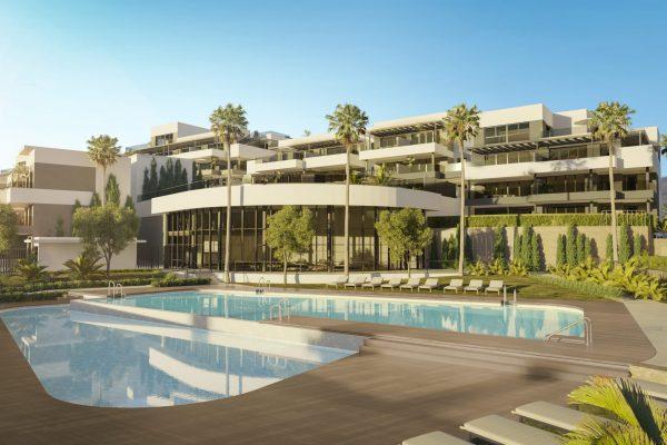 New built 1, 2, 3 & 4 bedroom apartments in Estepona